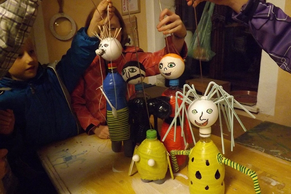 Make your own puppet (workshop)